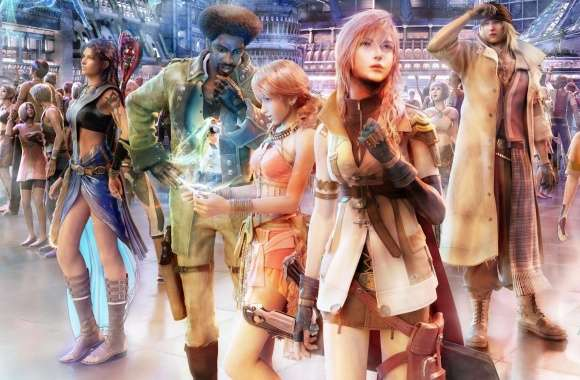 FFXIII Group on Nautilus wallpapers hd quality