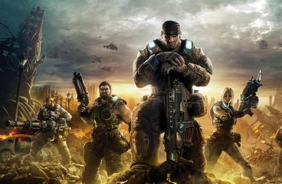 Gears of War 3 2011 wallpapers hd quality