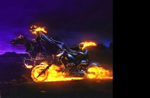 Ghost Rider Pair wallpapers hd quality