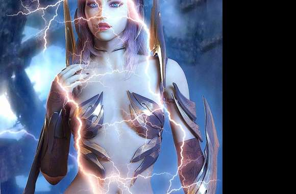 lightning woman wallpapers hd quality