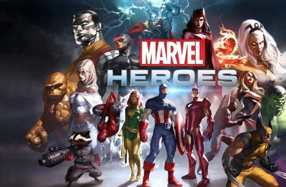 Marvel Heroes Game 2014