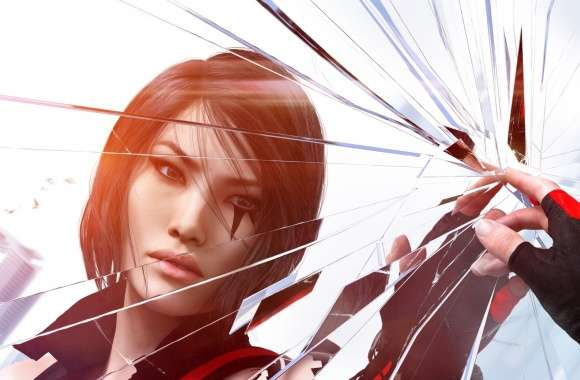 Mirrors Edge Catalyst Faith and Shattering Glass wallpapers hd quality