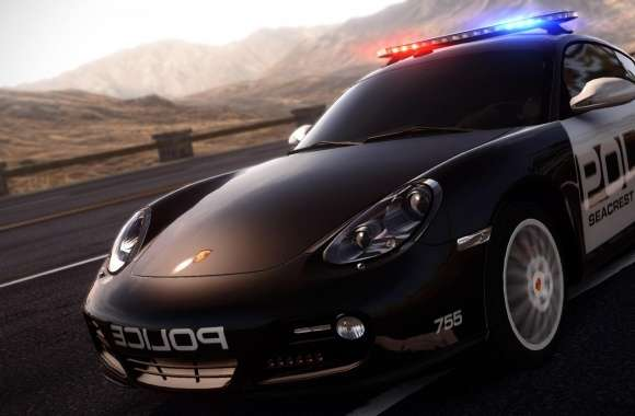 Need For Speed Hot Pursuit Porsche Police Car