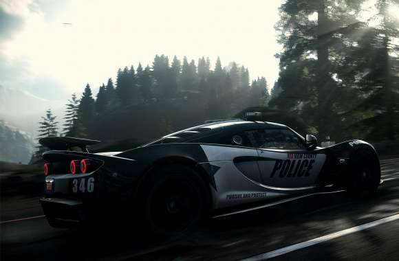 Need for Speed Rivals Police Car