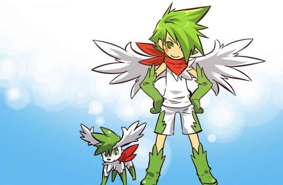 Shaymin Pokemon wallpapers hd quality
