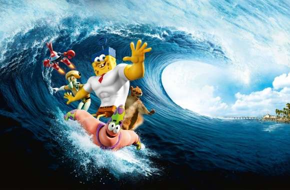The SpongeBob Movie Sponge Out Of Water wallpapers hd quality
