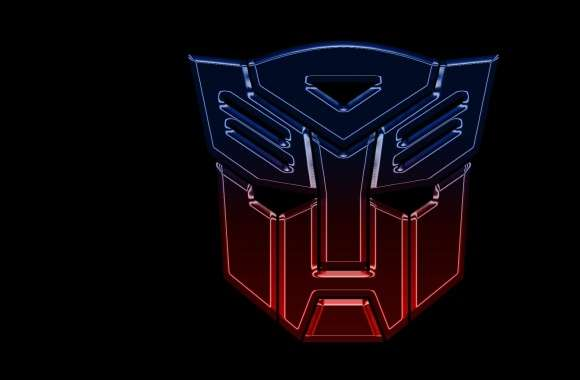 Transformers Autobots Logo Widescreen