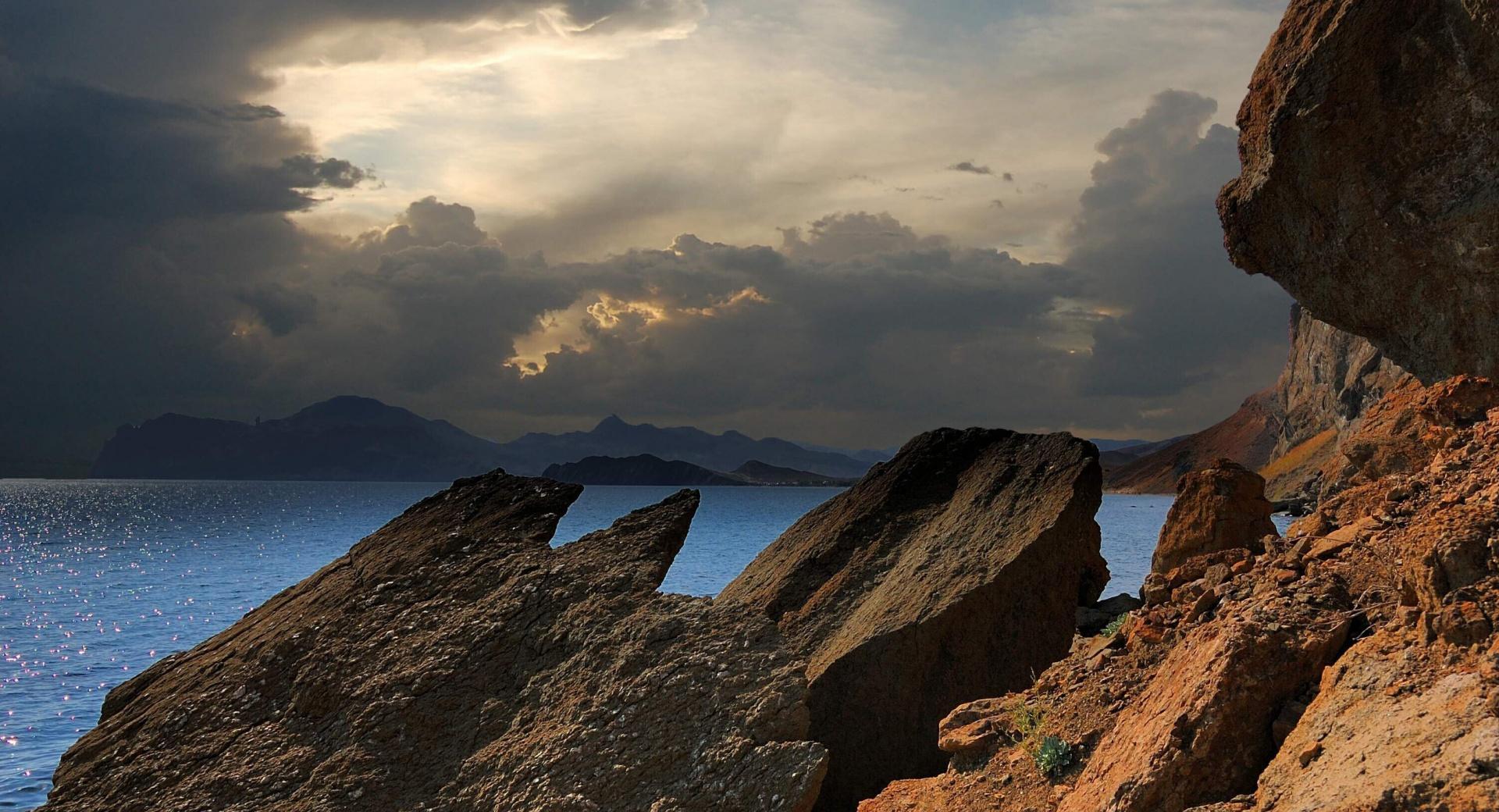 Arid Rocks wallpapers HD quality