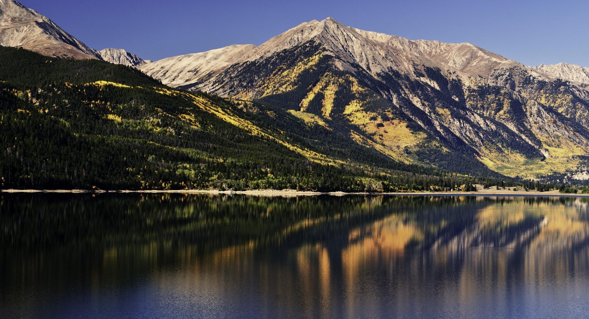 Big Mountain Lake wallpapers HD quality
