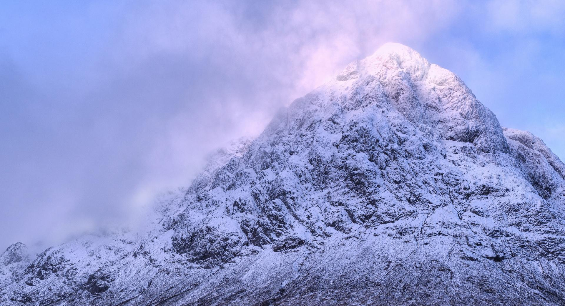 Buachaille Mountain Peak wallpapers HD quality