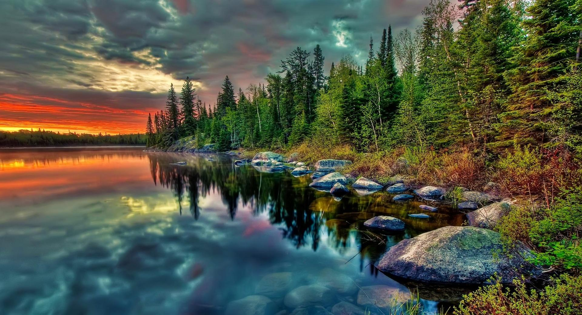 Clouds Reflection HDR wallpapers HD quality