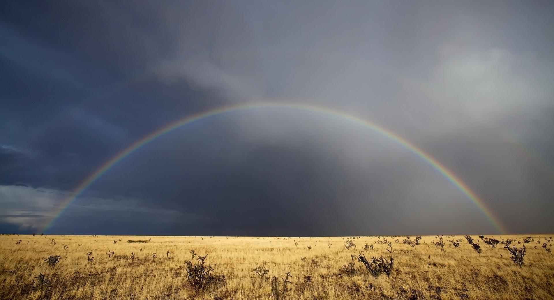 Desert Rainbow wallpapers HD quality