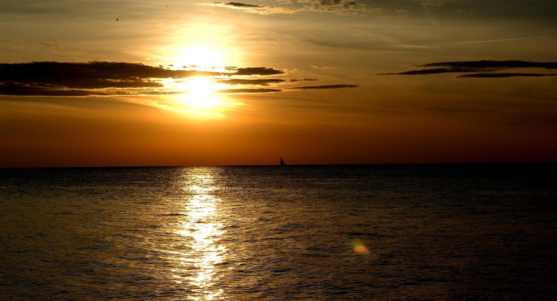Golden Sunset, Summer wallpapers HD quality