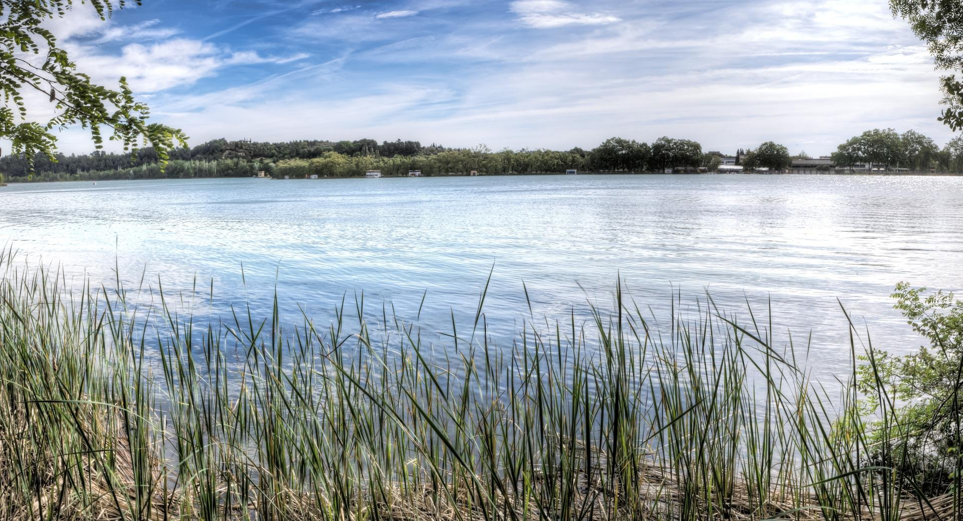 Lake of Banyoles Catalonia wallpapers HD quality