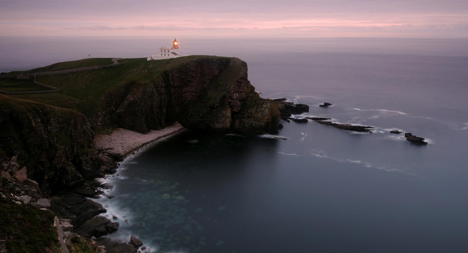 Lighthouse On The Cliff wallpapers HD quality