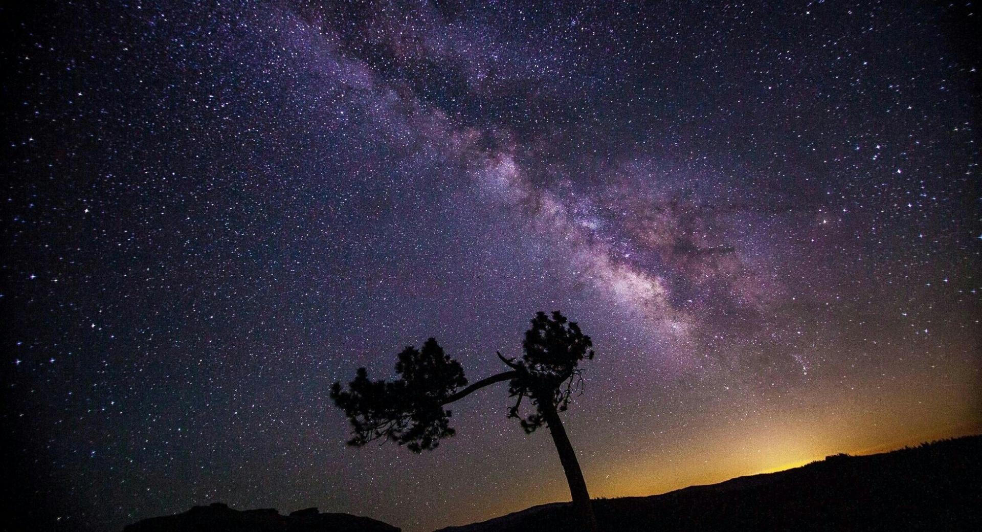 Milkyway in Night Sky wallpapers HD quality
