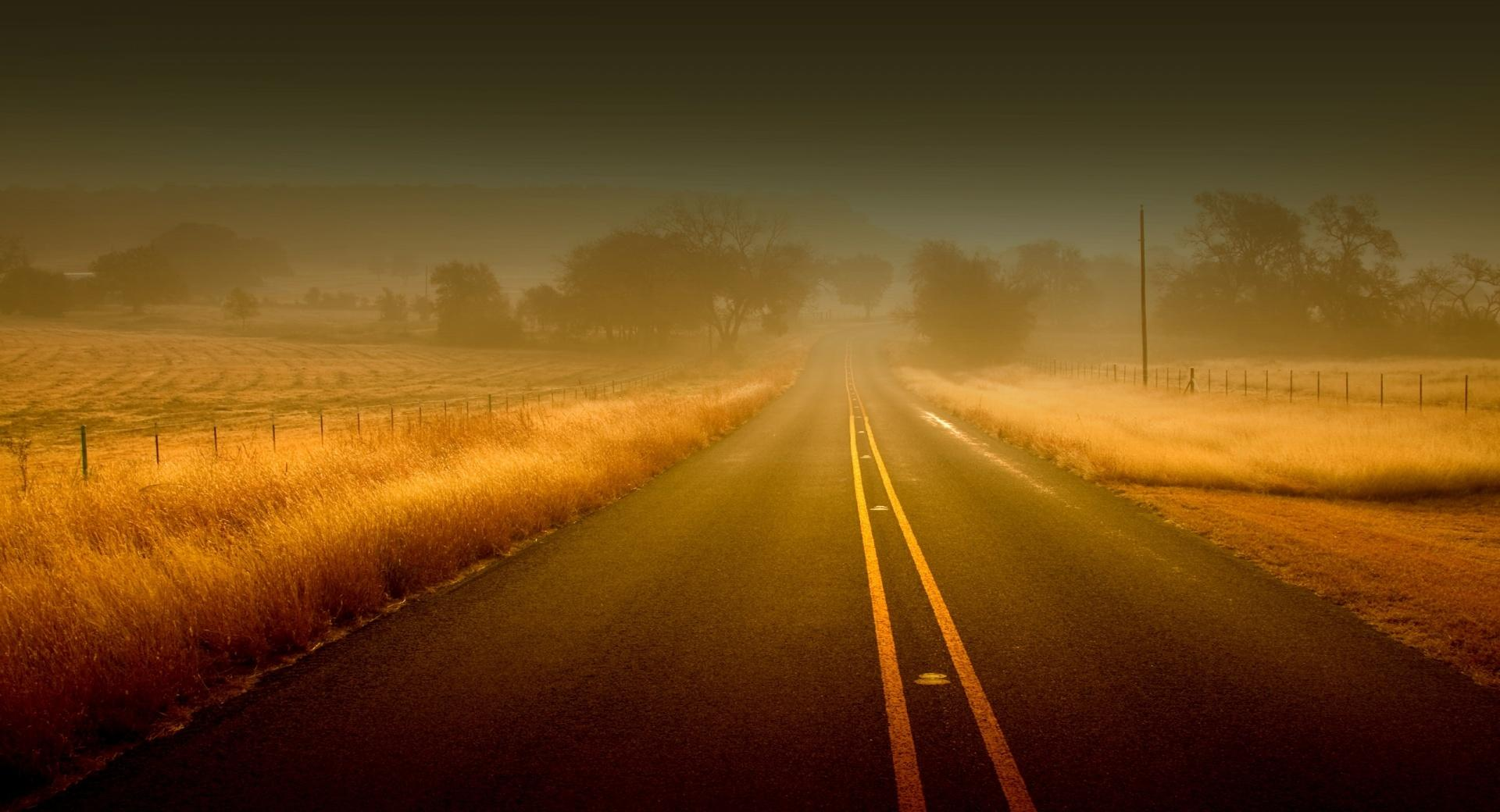 Misty Road wallpapers HD quality