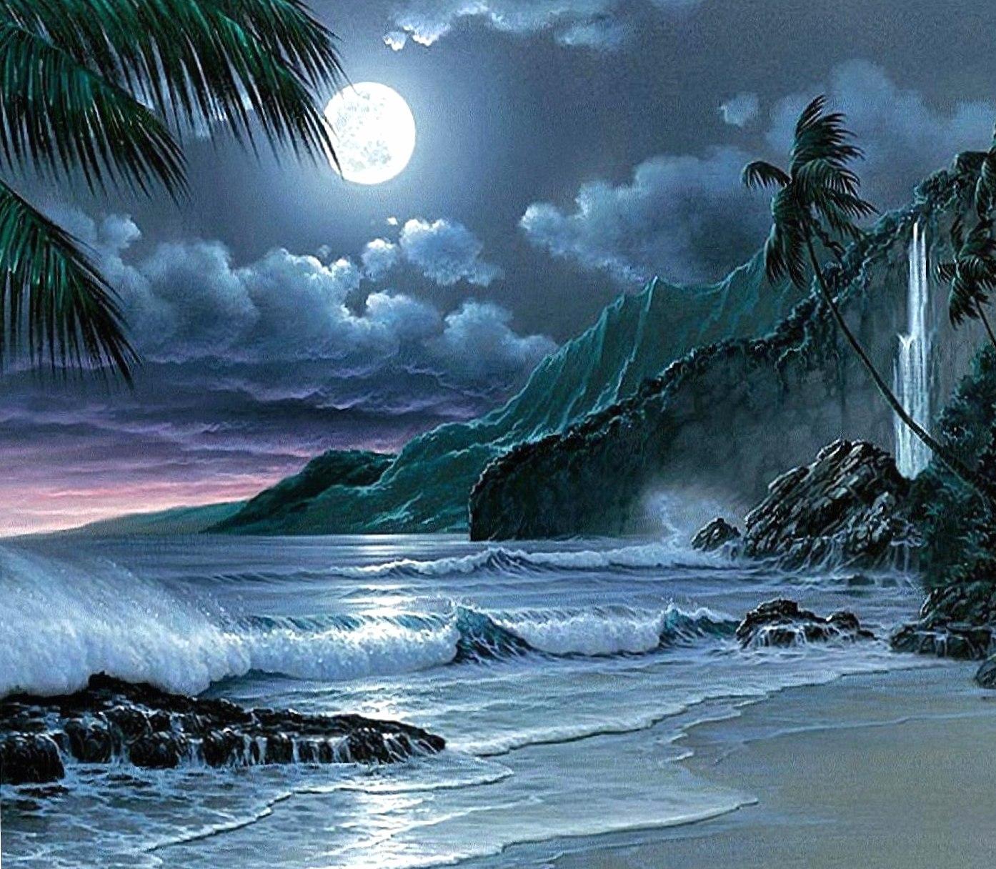 moon night hd wallpapers HD quality