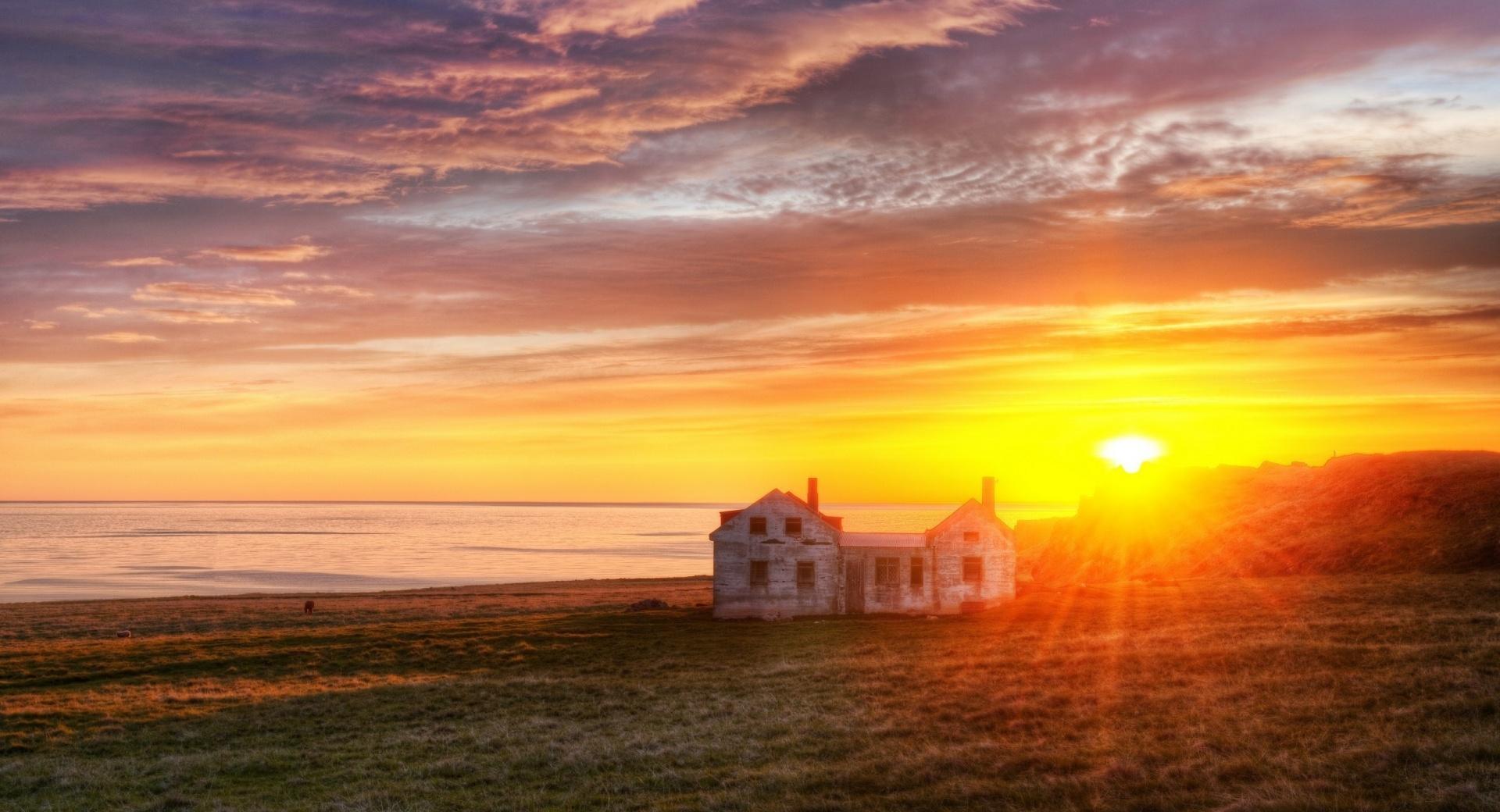 North Atlantic Sunrise wallpapers HD quality