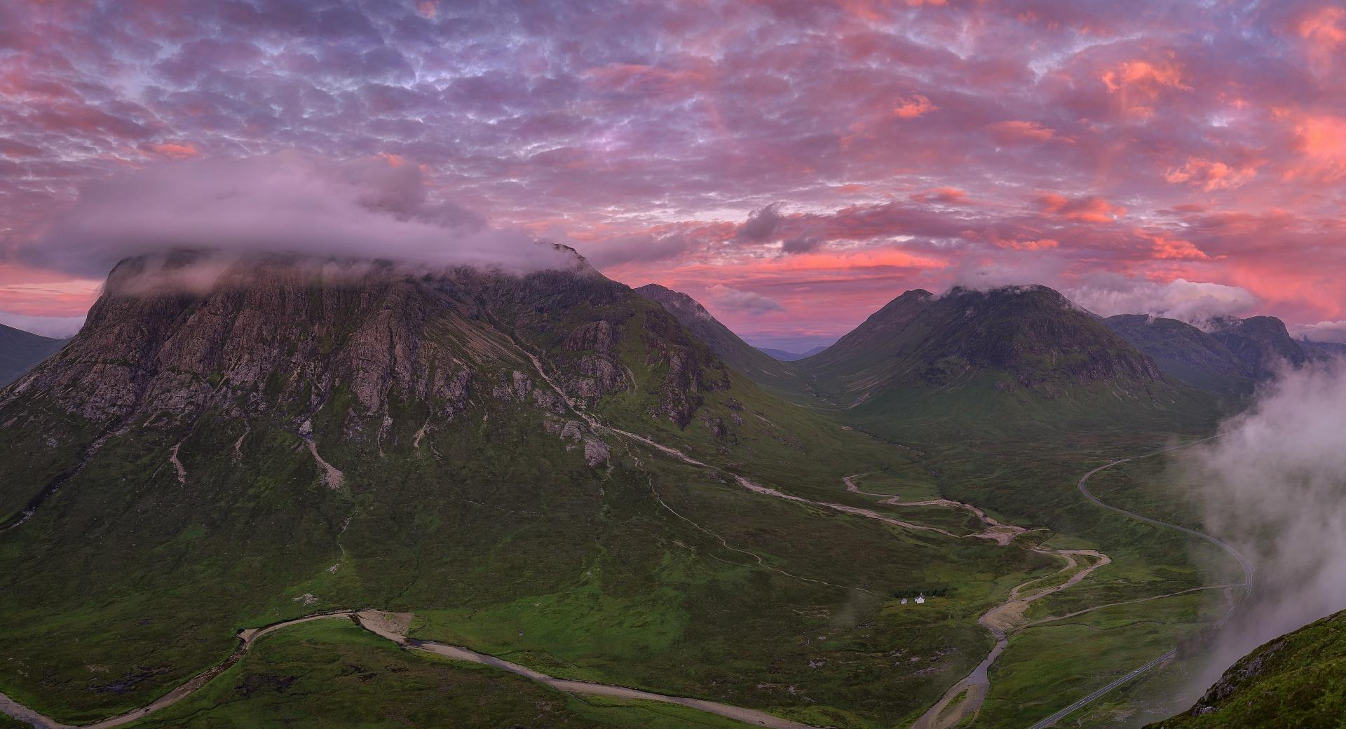Panoramic Photography, Scotland wallpapers HD quality