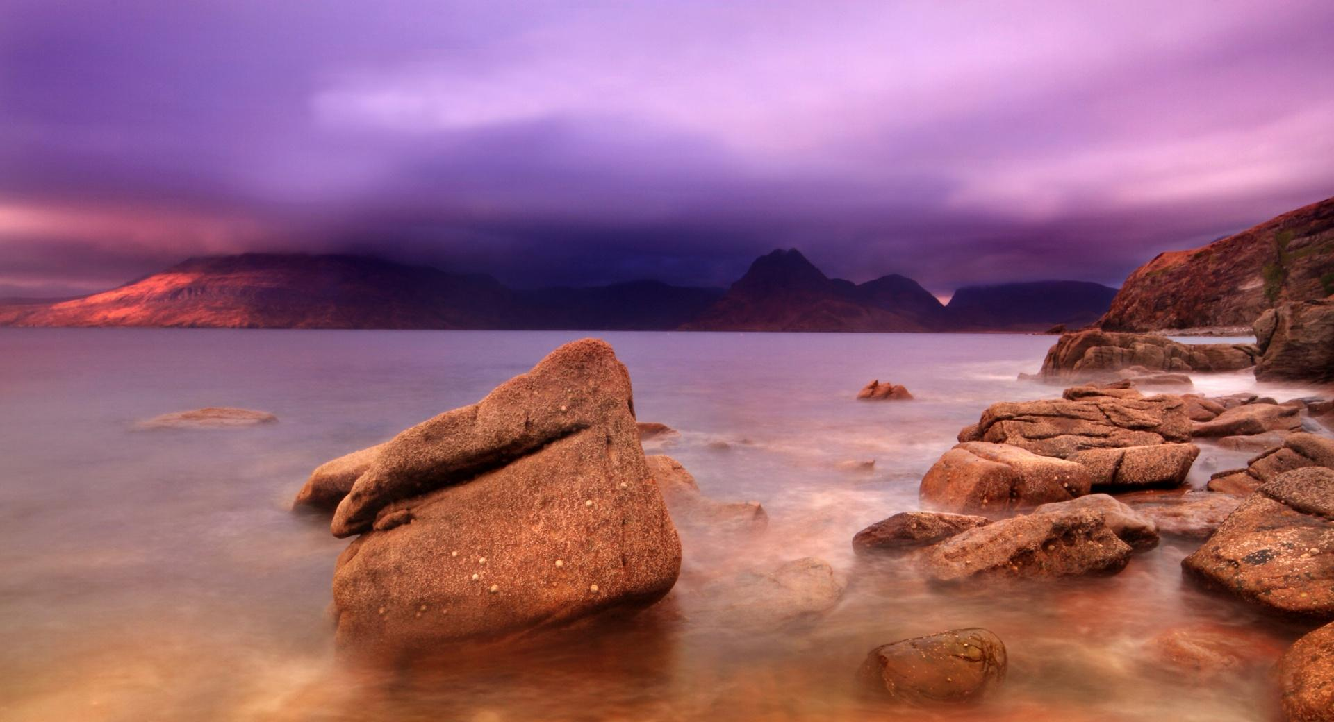 Purple Storm Clouds wallpapers HD quality