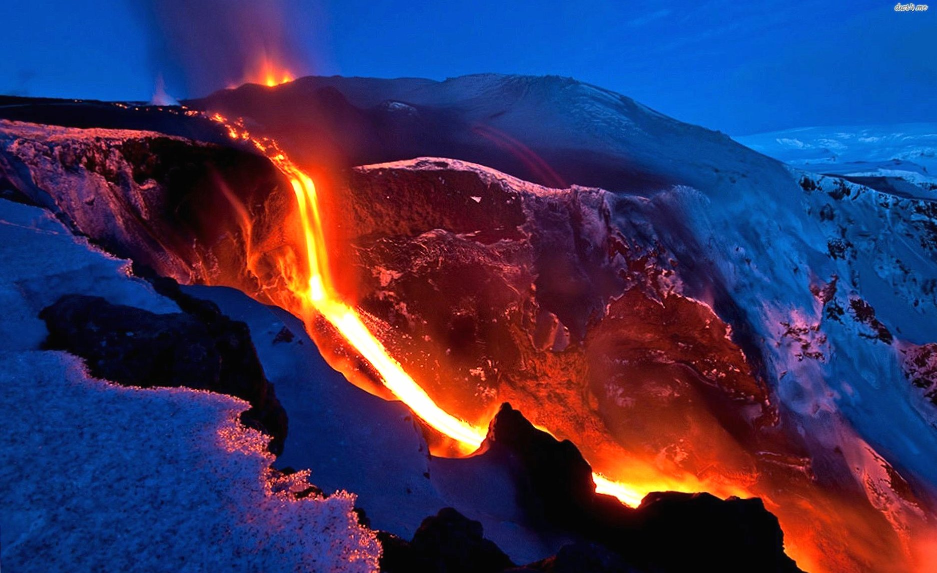 River of lava wallpapers HD quality