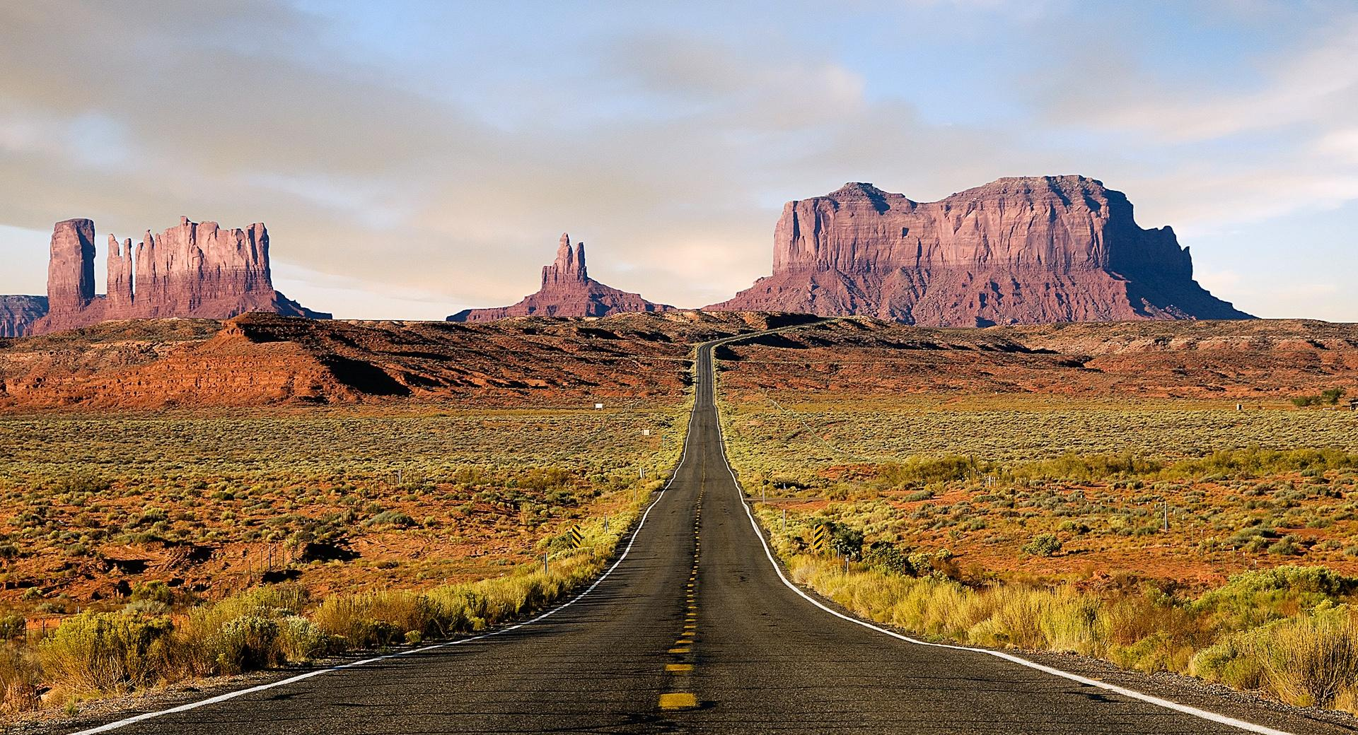 Route Desert wallpapers HD quality