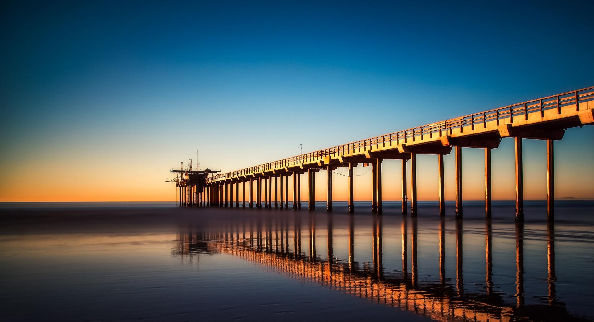 Scripps Pier wallpapers HD quality