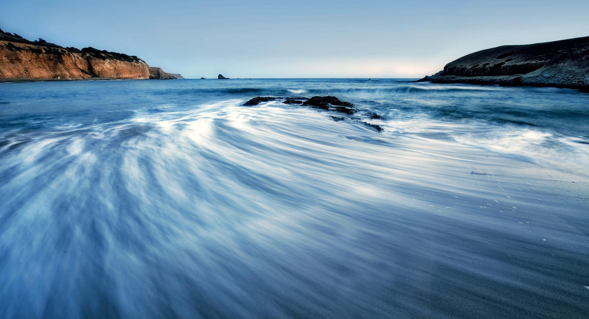 Sea Wave, Long Exposure wallpapers HD quality