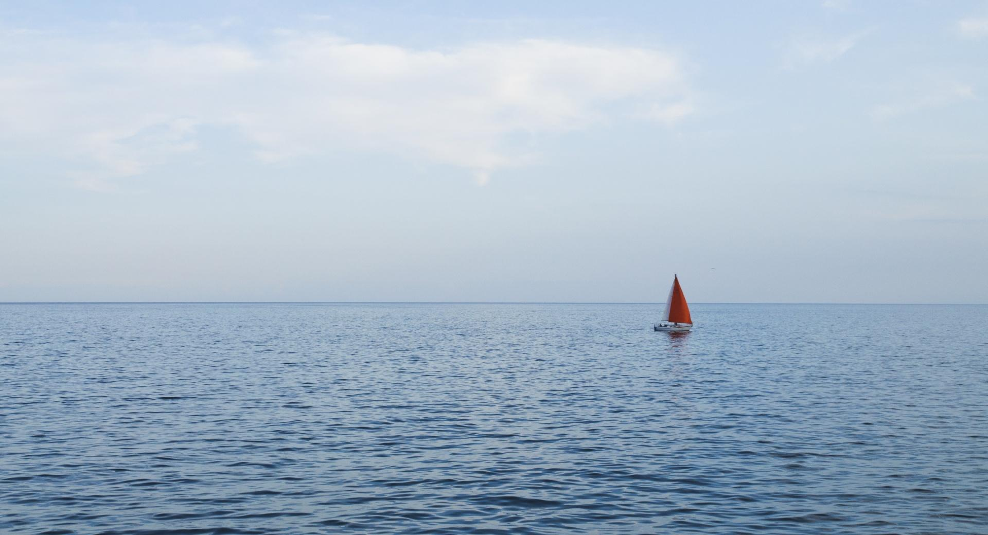 Solo Sail Boat wallpapers HD quality
