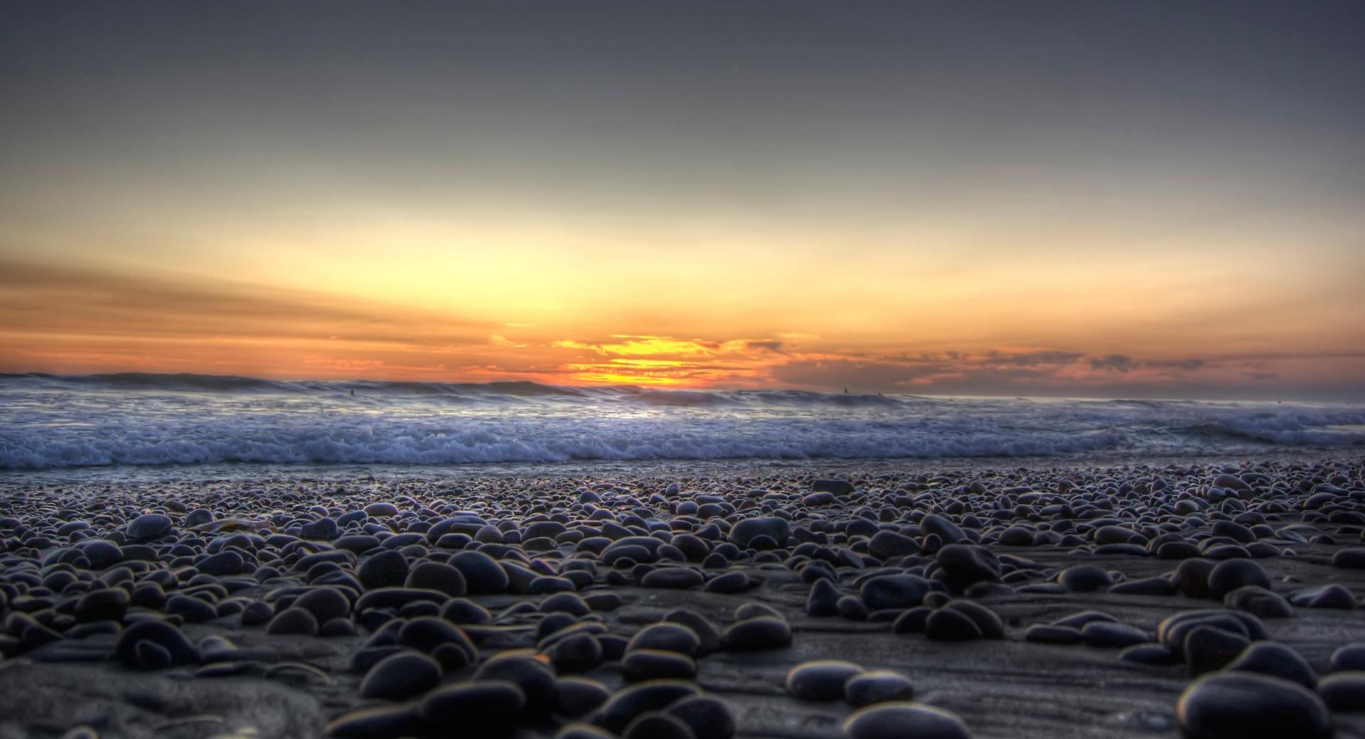 Stones On The Beach wallpapers HD quality