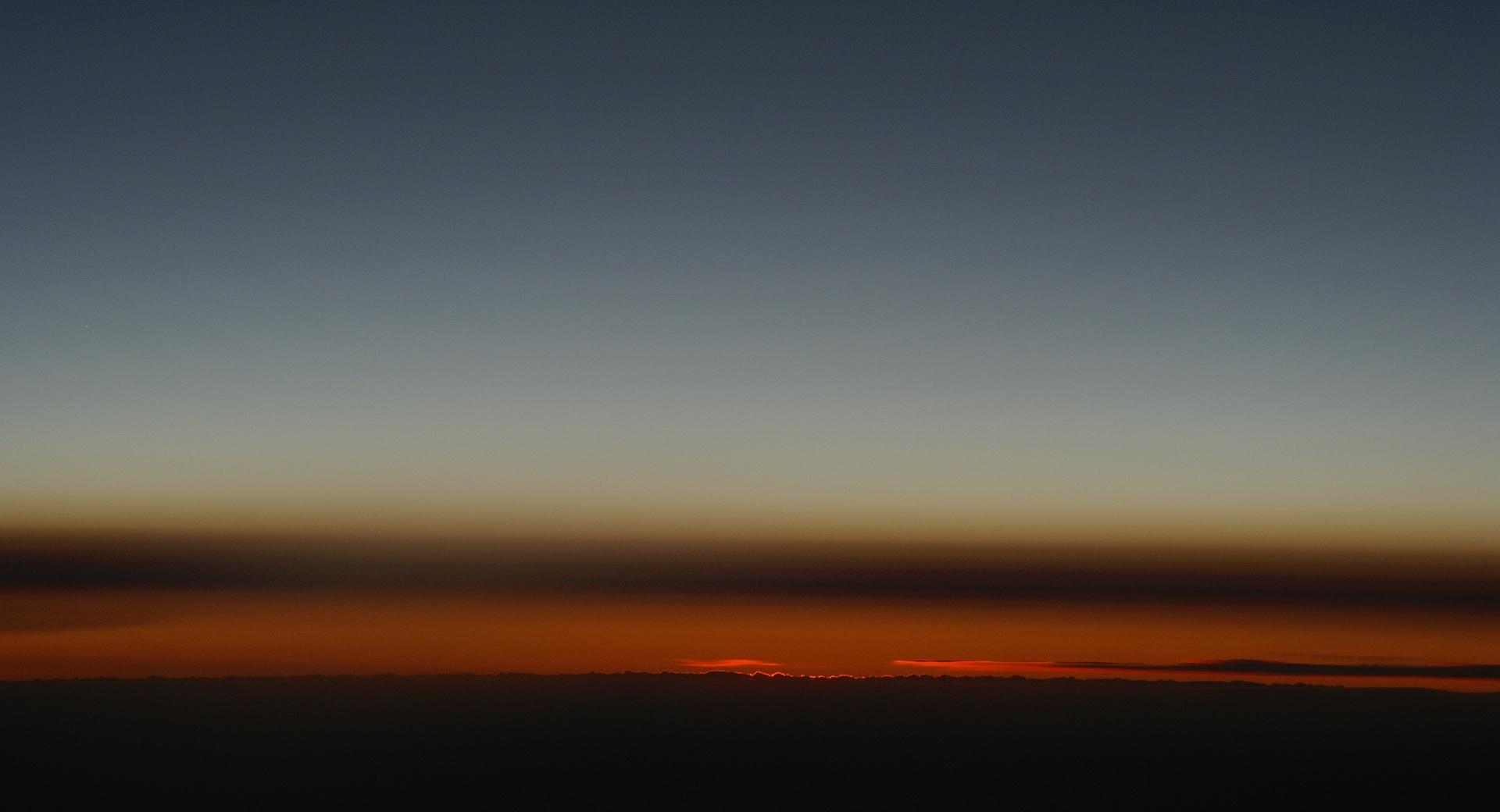 Sunset From Airplane wallpapers HD quality