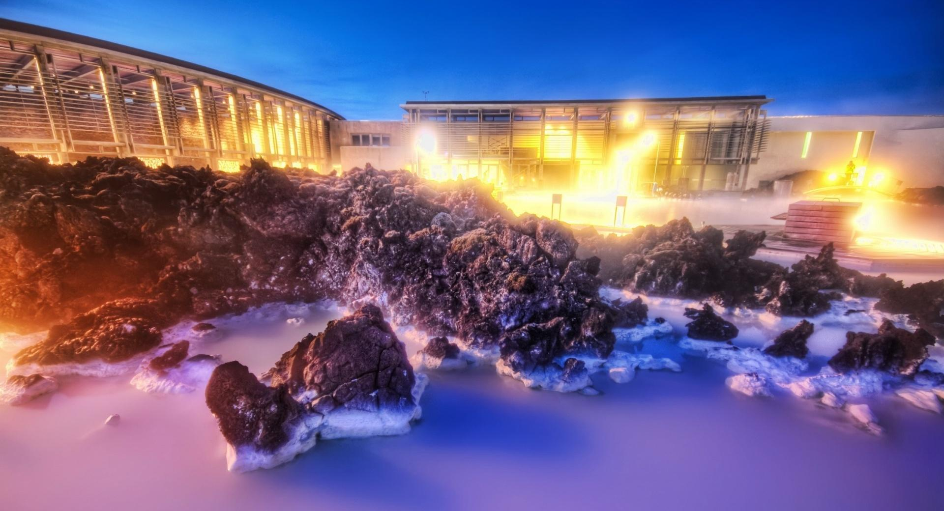 The Milky White Geothermal Occurrence wallpapers HD quality