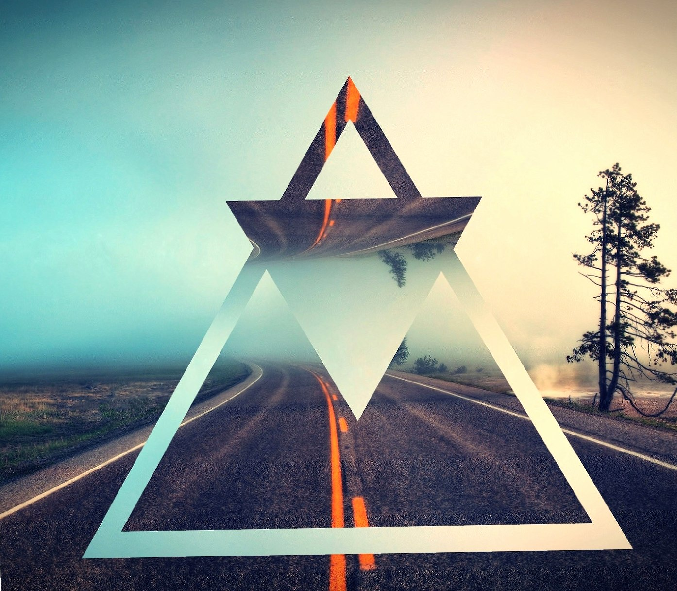 Triangle Road wallpapers HD quality