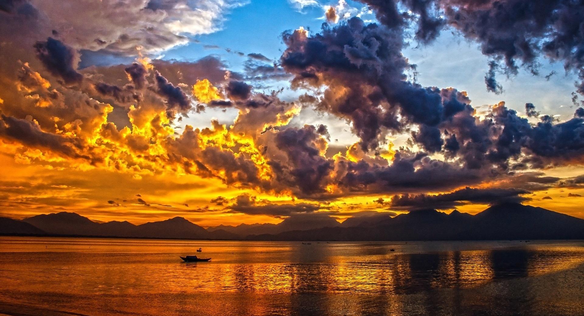 Vietnam Sunset wallpapers HD quality
