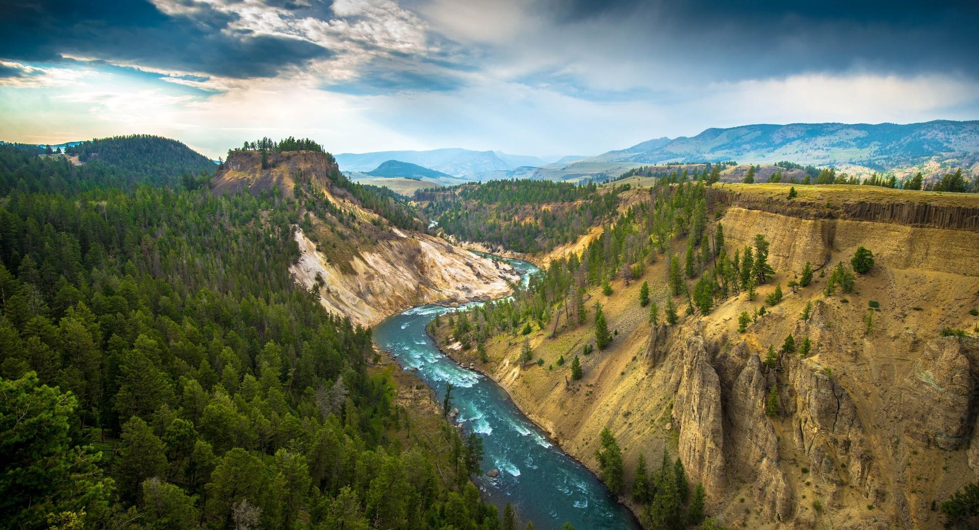Yellowstone wallpapers HD quality