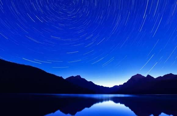 Circle Star Trails wallpapers hd quality