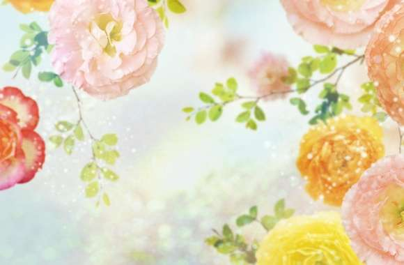 Wild Roses 2 wallpapers hd quality