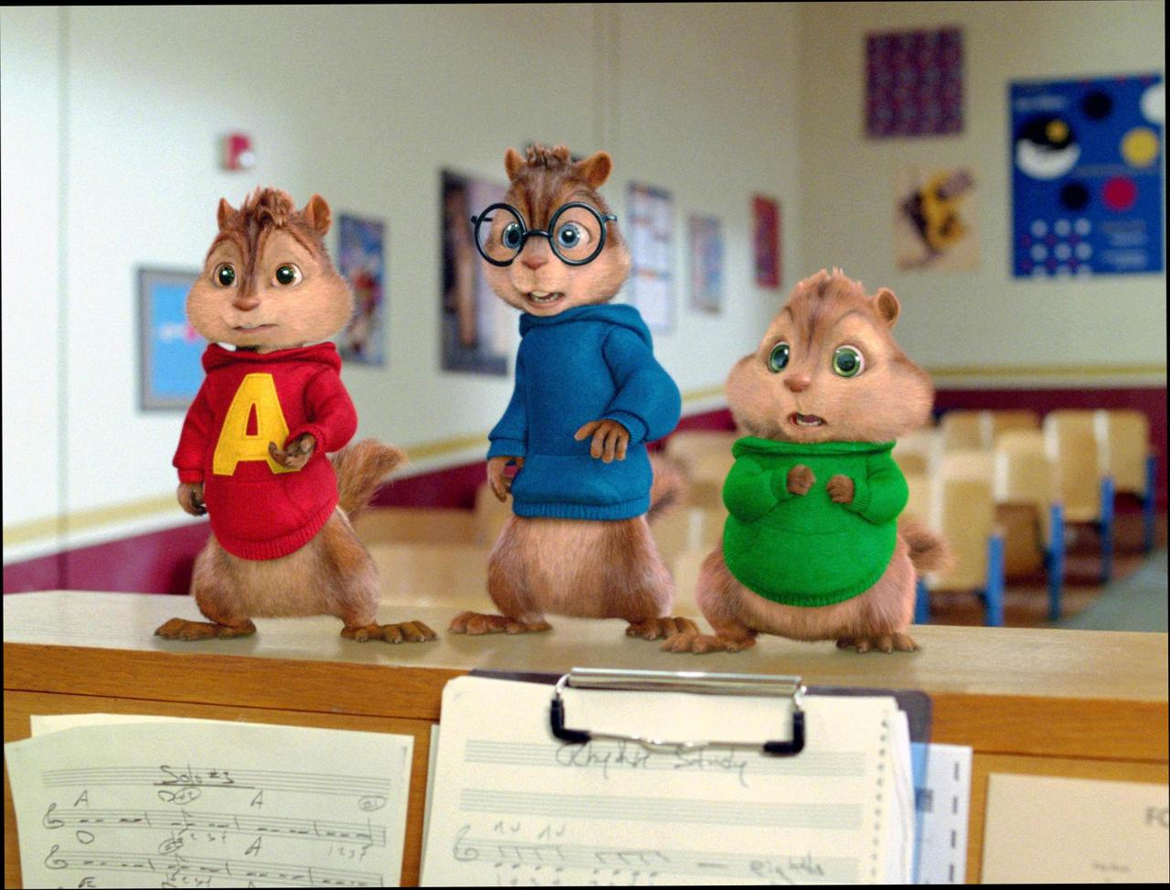 Alvin and the Chipmunks The Squeakquel wallpapers HD quality