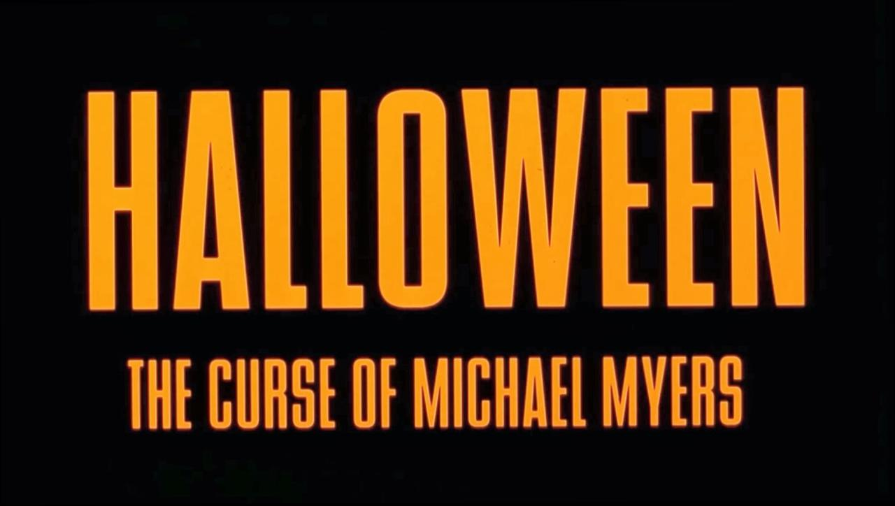 Halloween The Curse of Michael Myers at 1024 x 1024 iPad size wallpapers HD quality