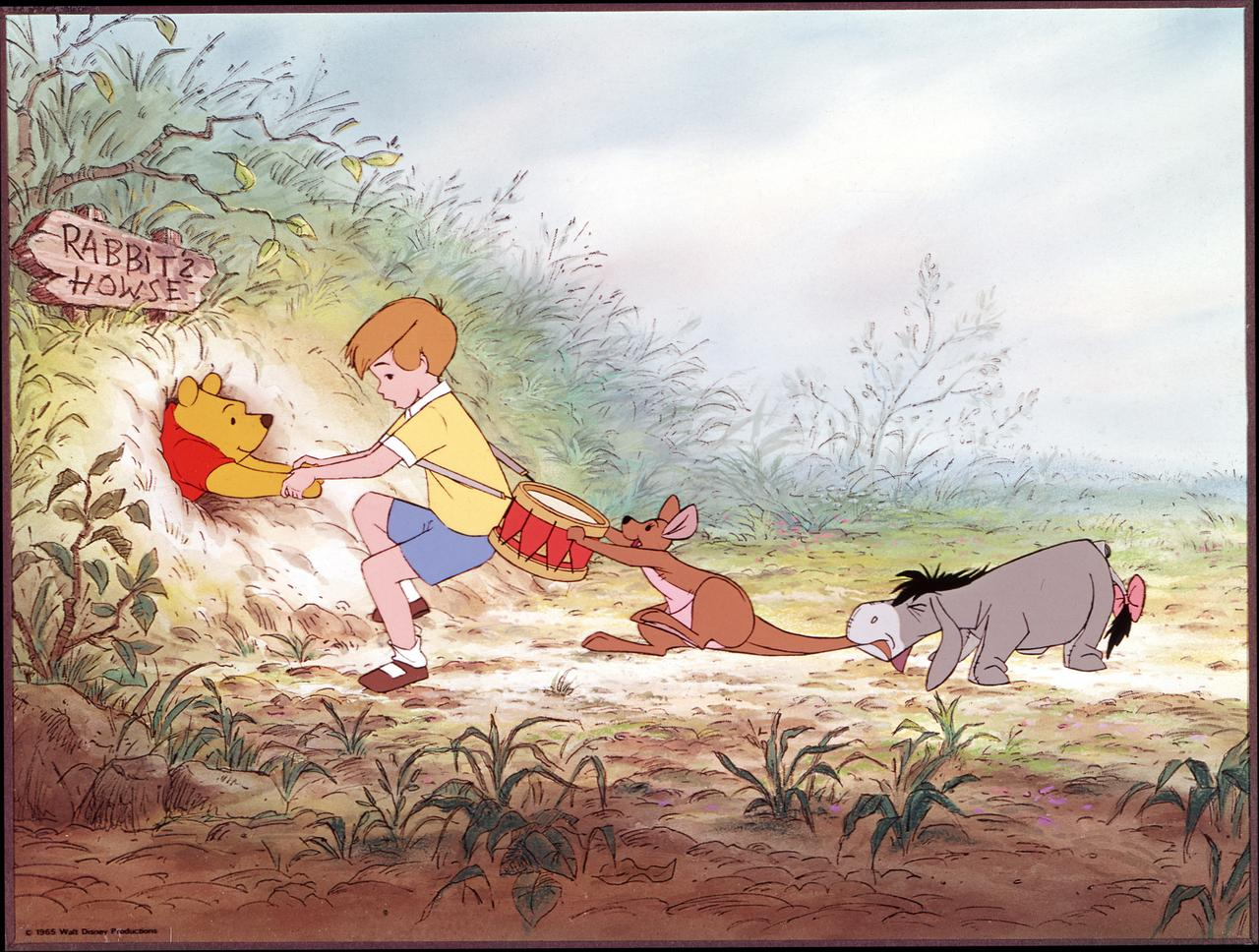The Many Adventures of Winnie the Pooh wallpapers HD quality